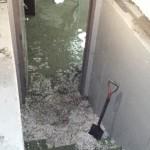 Hail Storm Basement Damage